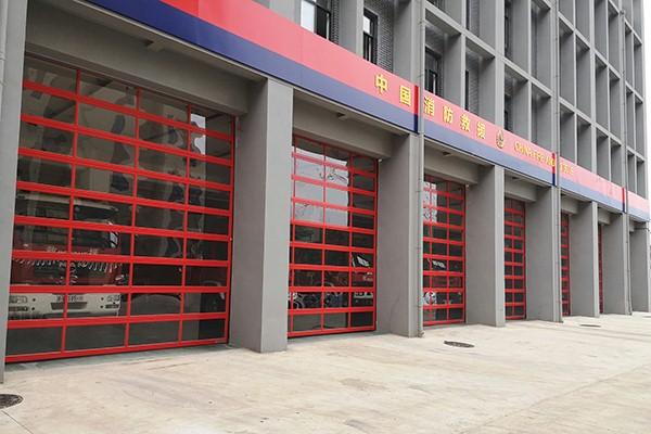 工业提升门消防联动